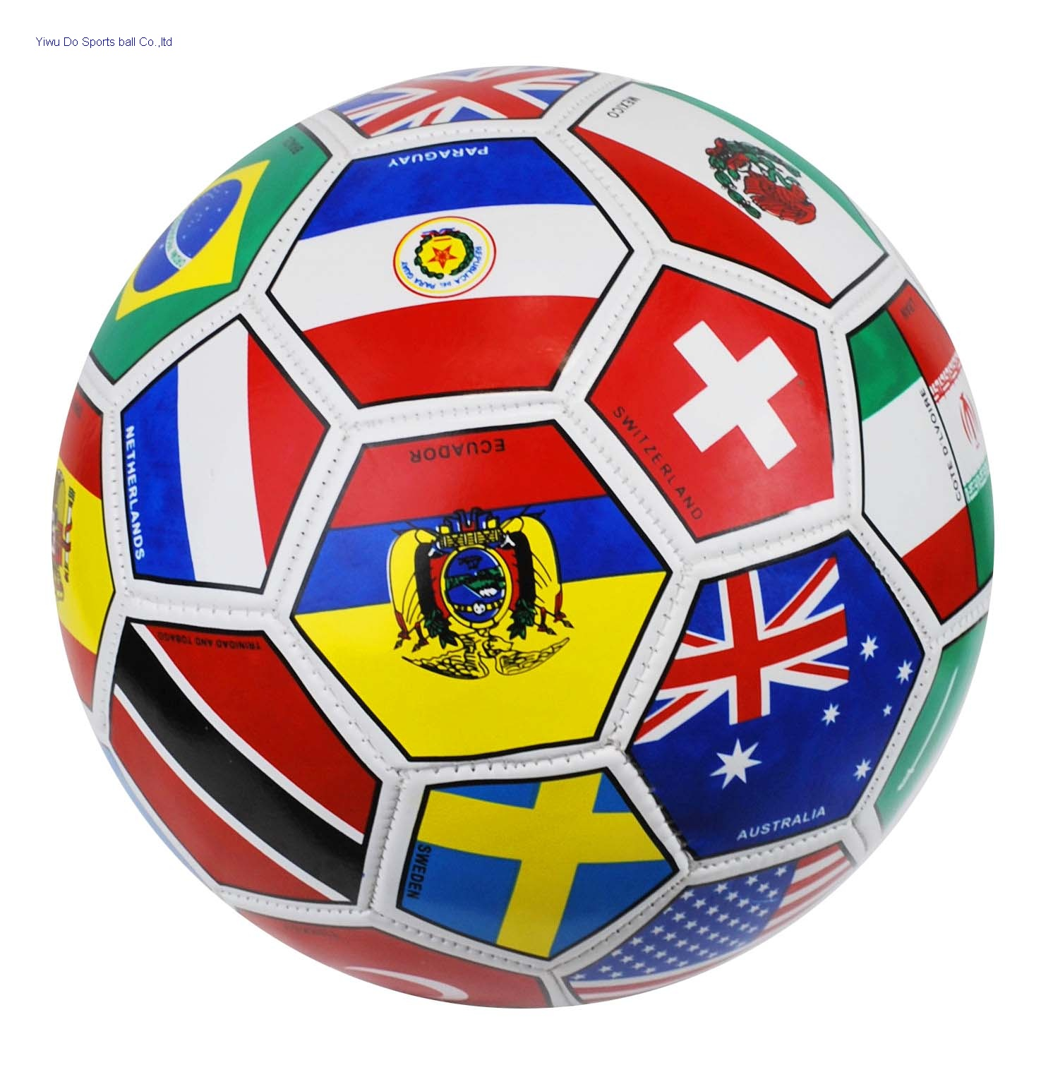 b2218f2e9 International Country Flags footbBall World Cup Size 5