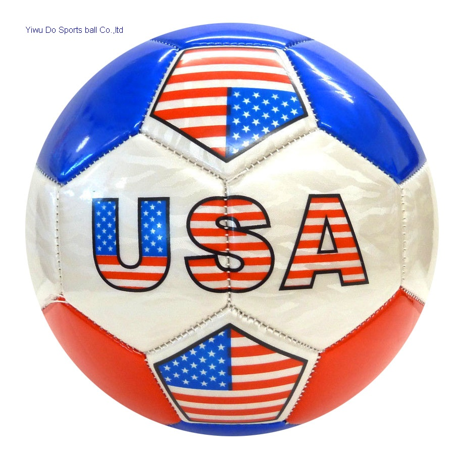 2018 World Cup Soccer USA FLAG ALL WEATHER Soccer Ball U.S Official Size 5 bf172699c