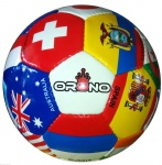 International Country Flags Soccer Ball World Cup Size 5 Western Star