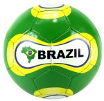 2014 World Cup Soccer Brasil FLAG ALL WEATHER Soccer Ball Official Size 5