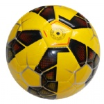 pvc leather sewing stitched promotion design cheaper soccer ball football