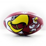 colorful printing rugby ball
