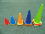 Soccer Training Flexible Cone Child Kid Sports Team training Equipment