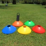 50pcs Field Marking/Marker Holder&Carrier Training Soccer Football Disc Cones