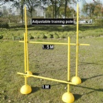 Trainer Agility kit set speed Training  cone pole hurdle
