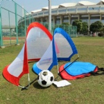 Original Pop-Up 4 Ft SOCCER GOAL, Portable SOCCER NET TRAINING EQUIPMENT