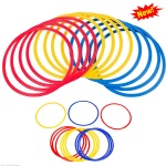 SET OF 12 Speed and Agility Training Rings
