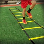 New Outdoor Sport Durable 9 rung 5M Agility Ladder for Soccer Speed Training High Quality