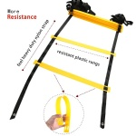 Durable Training Agility Ladder with Carry Bag